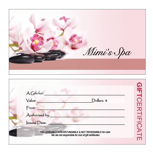 salon giftcertificate A10 Top Result 70 Unique Nail Gift Certificate